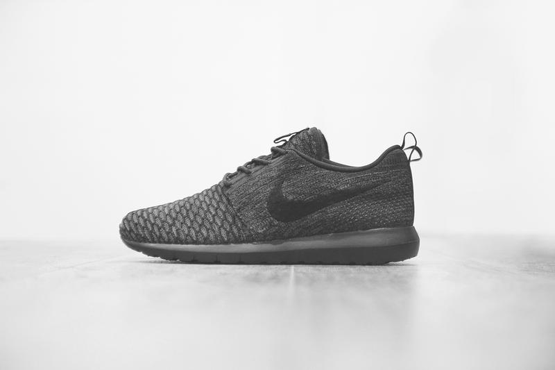 "reputable site 9745e ec111 Nike Flyknit Roshe Run ""Triple Black"". A combination of Nike s most  covetable technologies come together in the newest release from the"