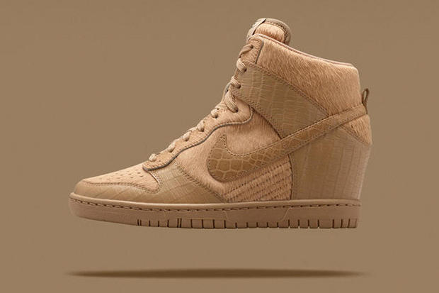 Reinterpreting the classic Nike Dunk silhouette as a fashion wedge 2f0f8165005a