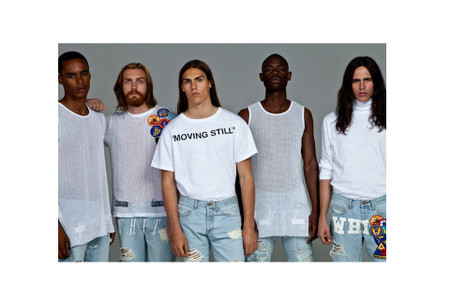 "OFF-WHITE c/o VIRGIL ABLOH 2014 Fall/Winter ""Moving Still"" Lookbook"