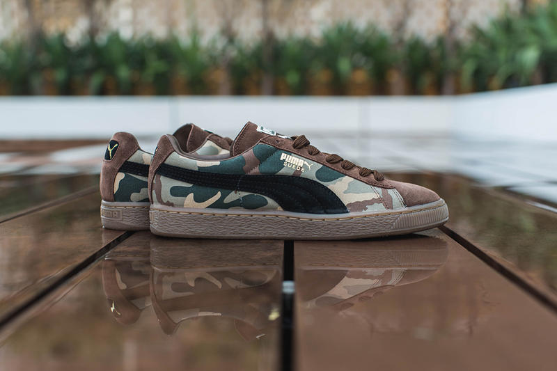 943dfee5fb3 PUMA 2014 Fall Winter Suede Camo Pack. Instantly recognizable
