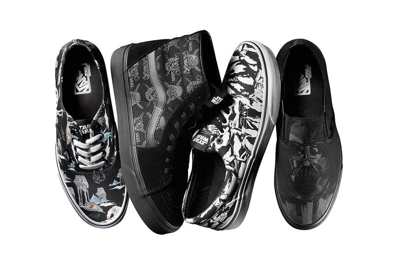 045b3d8ecf Vans reprises its well-received Summer 2014 collection with the Star Wars  team to create a new
