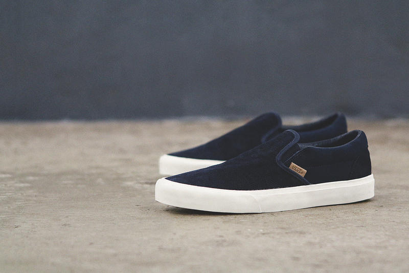 a18c91e8562 From Vans comes the ever-popular Classic Slip-On CA silhouette which has  been updated with new