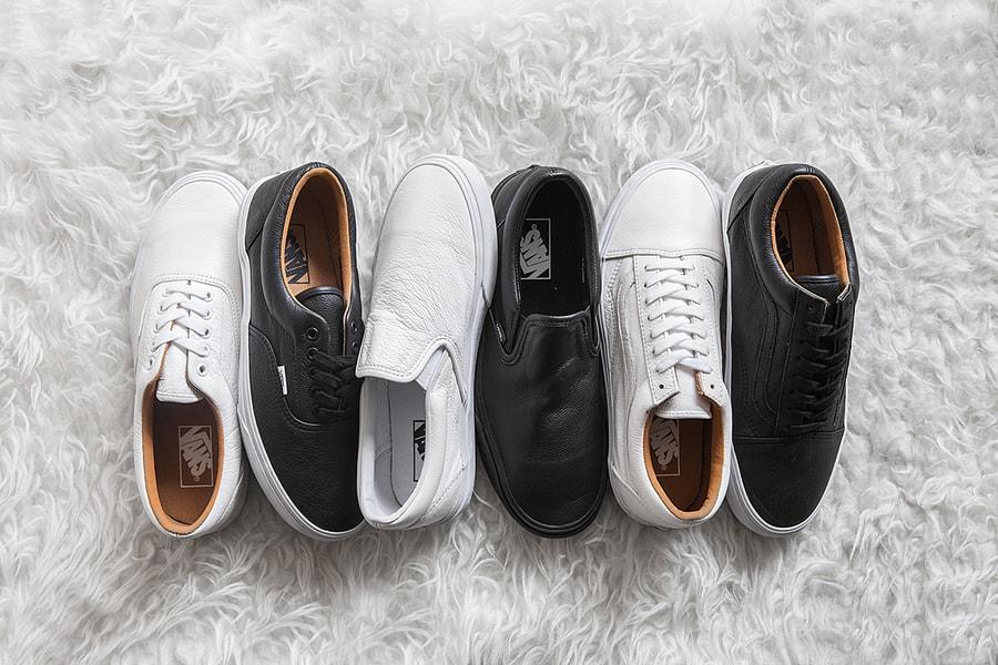 07cf7d3005 Vans Classics 2014 Holiday Premium Leather Pack