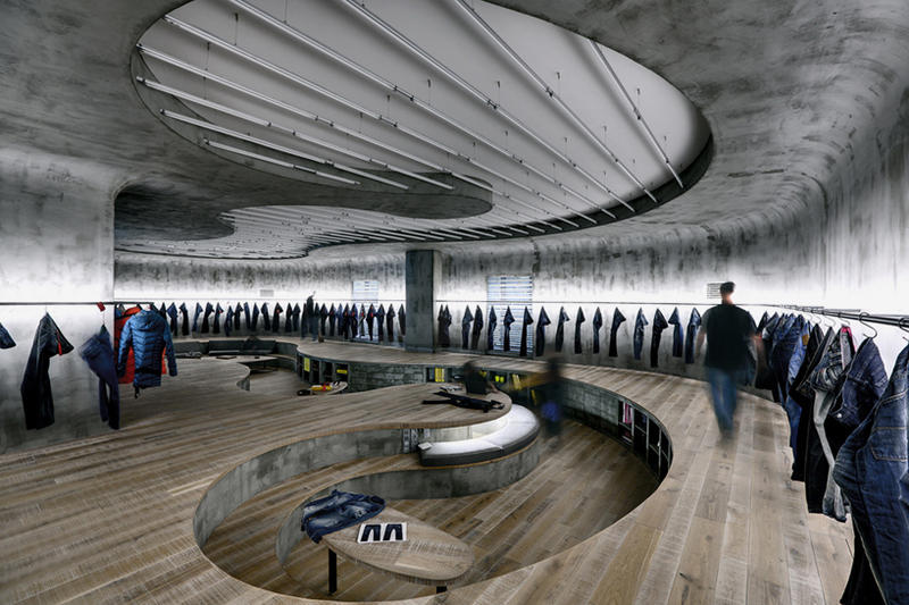 Zemberek Designs New Curvilinear Studio for Istanbul's Denim R&D