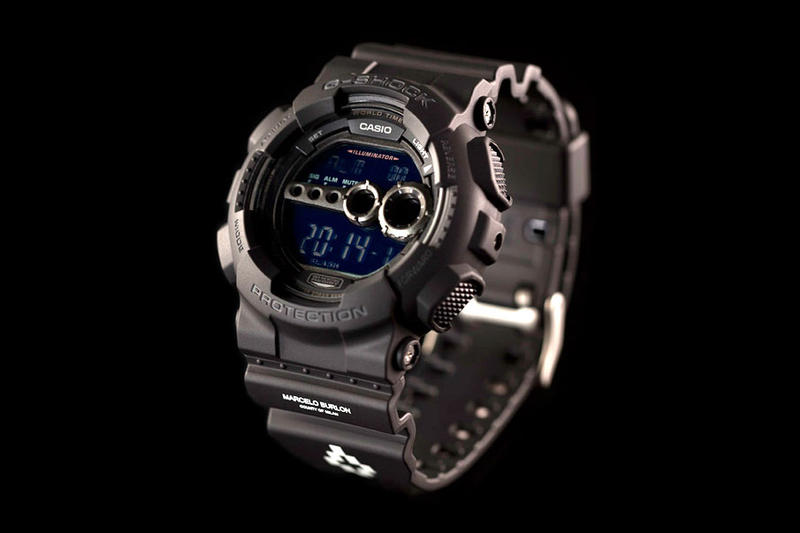 A Closer Look at the Marcelo Burlon County of Milan x G-SHOCK GD-100-1BER