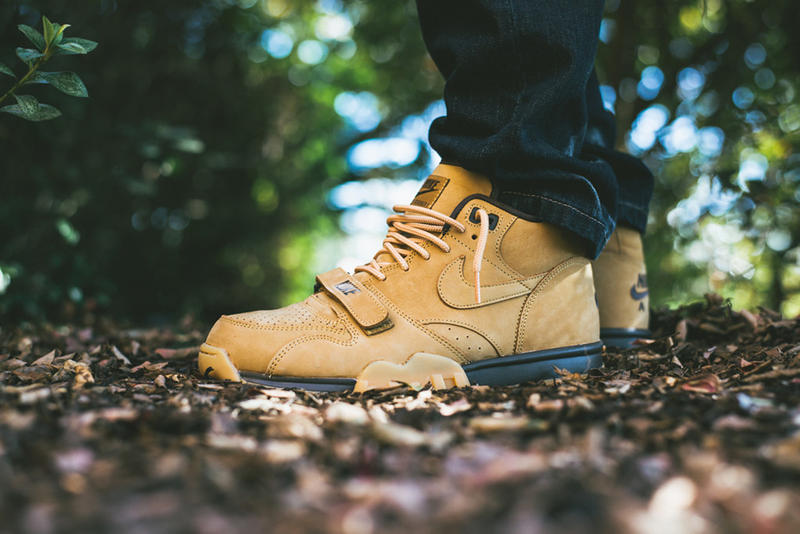 "A Closer Look at the Nike Air Trainer 1 Mid Premium NSW ""Flax"""