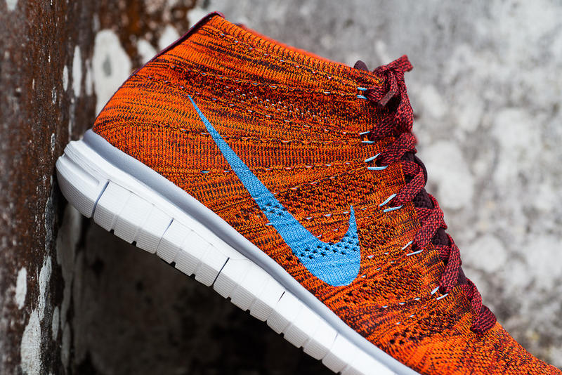 edbc5c064a88 The popular Nike Free Flyknit Chukka silhouette releases another colorway  for the coming autumn
