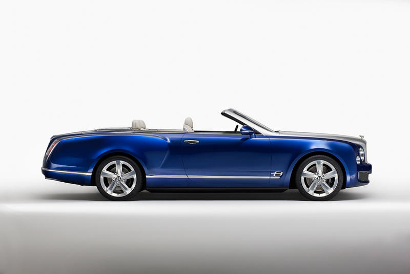Bentley Unveils its Mulsanne-Inspired Grand Convertible