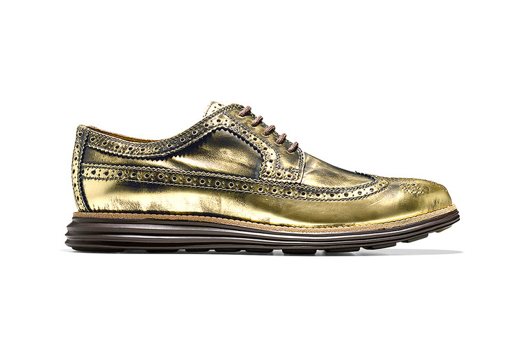 ec94eb4de98 Cole Haan Offers Metallic Options with Latest Grand and ZeroGrand Shoes