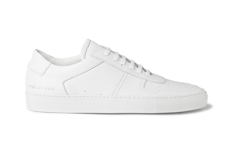 b05bf29e830 Common Projects White BBall Low Leather Sneakers