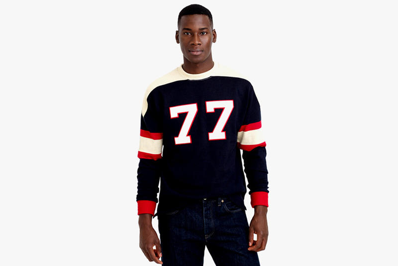 9c45f45b09c Ebbets Field Flannels for J.Crew Authentic Football Jerseys