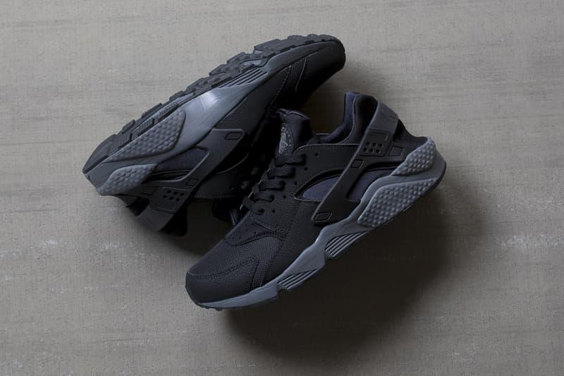 Poesía ocupado Cordelia  Nike Air Huarache Black/Dark Grey | HYPEBEAST