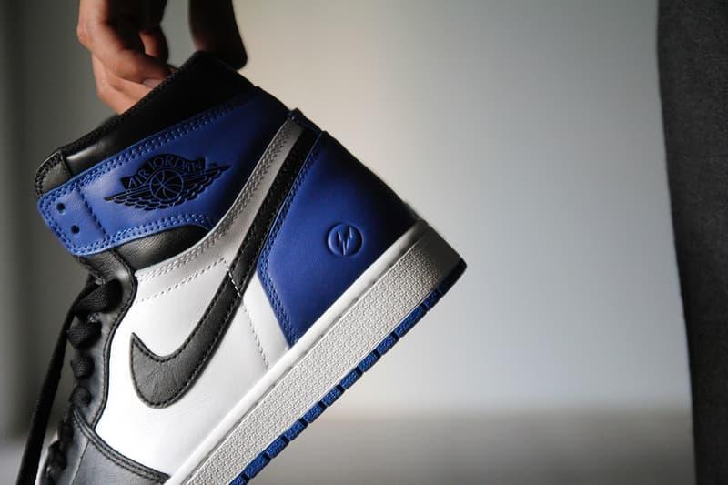 53d555bac2c A Closer Look at fragment design x Air Jordan 1 Retro High OG ...