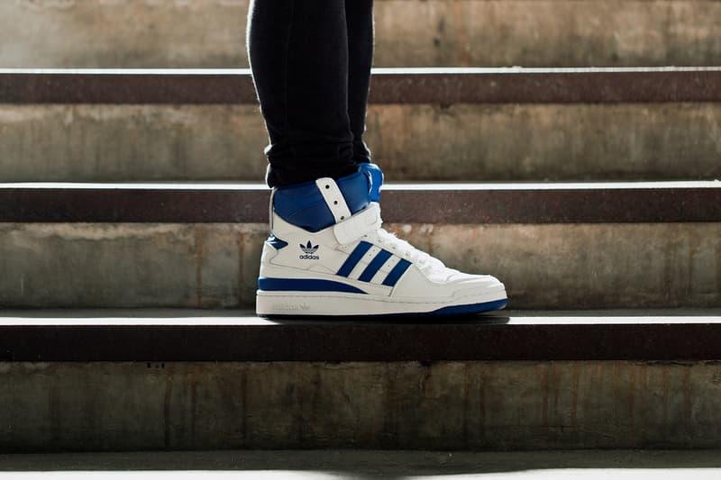 5e421270e61 A Closer Look at the adidas Originals Forum Hi OG White