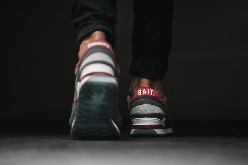 """Following the initial reveal of the BAIT x Saucony Shadow Original  CruelWorld 4 """"Midnight Mission 9f6cb1a227"""