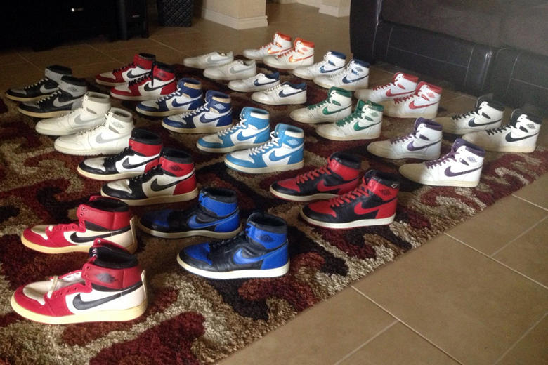 Royaume-Uni disponibilité 5b60e c880d A Collection of Original Air Jordan 1s from 1985 is Up for ...