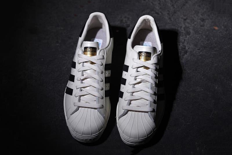 1348b310747890 adidas Superstar 80s Deluxe OG Vintage White Black