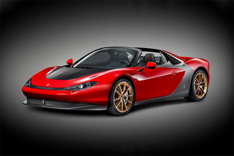 Ferrari Unveils the Production Version of the Sergio by Pininfarina