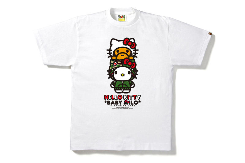 87564300a8fa Hello Kitty x A Bathing Ape 2014 Capsule Collection