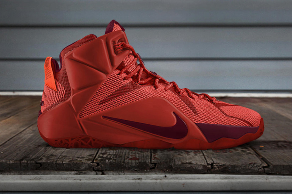 more photos 7b449 73e0b LeBron 12 NIKE iD Released in 12 Custom Colors: Tribute to ...
