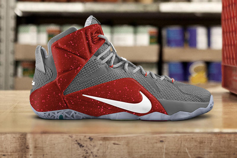 fa976b9a7c3 LeBron 12 NIKE iD Released in 12 Custom Colors: Tribute to Ohio ...