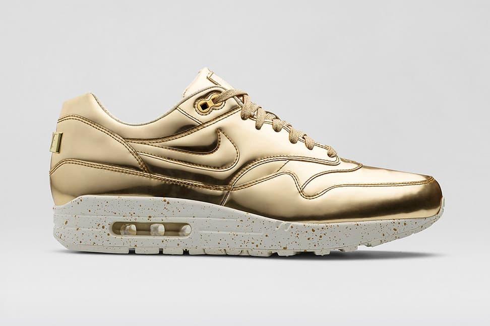 "Nike 2014 Holiday Air Max 1 SP ""Liquid Metal"" Pack"