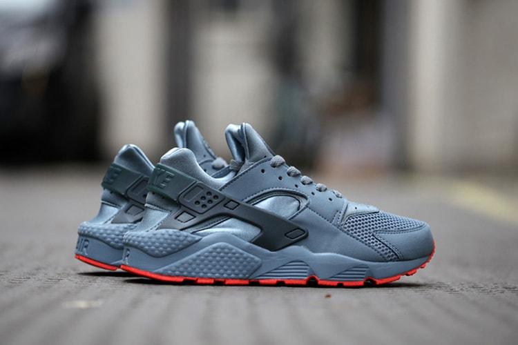"""f8aba2637dd04 Nike Air Huarache Run FB """"Graphite"""""""