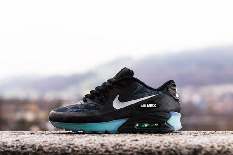 d6ae18213 Nike Air Max 90 Ice QS Black Cool Grey-Anthracite