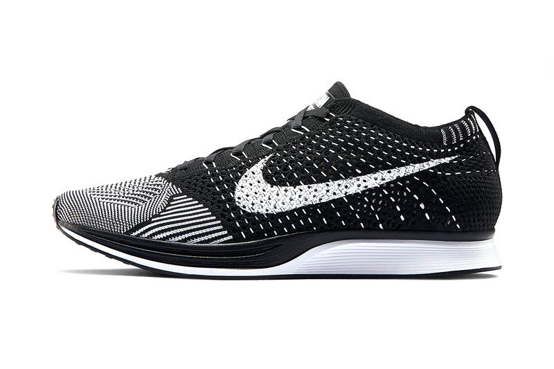 The popular Black White colorway of the Nike Flyknit Racer returns this  season with a minor update. Footwear Dec 8 ef294a3264