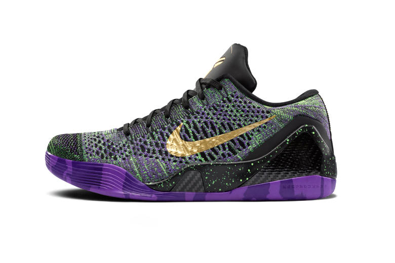 """Nike Kobe 9 Elite """"Mamba Moment"""" QS iD Limited Edition Multi-Color Released in Honor of Bryant's Scoring Milestone"""