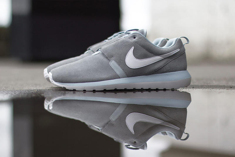 "fbbcdbebcedf The latest edition of the Nike Roshe Run NM comes in the form of a clean and  simple ""Cool Grey"""