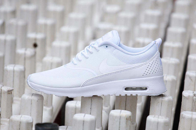 new style 3fbd6 227e7 Nike Sportswear Launches an All-White Air Max Thea for the Ladies