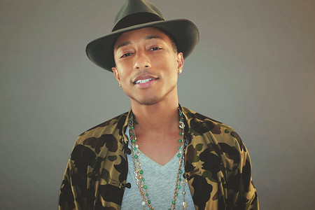 "Pharrell's ""Happy"" Becomes iTunes' Top Selling Song Of The Year"