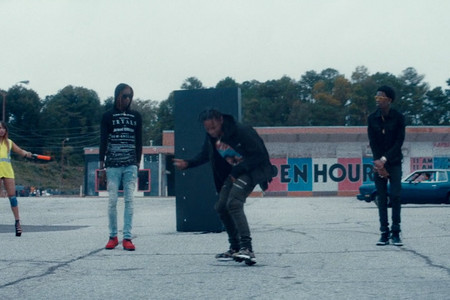 "Travi$ Scott featuring Young Thug & Rich Homie Quan ""Mamacita"" Music Video"