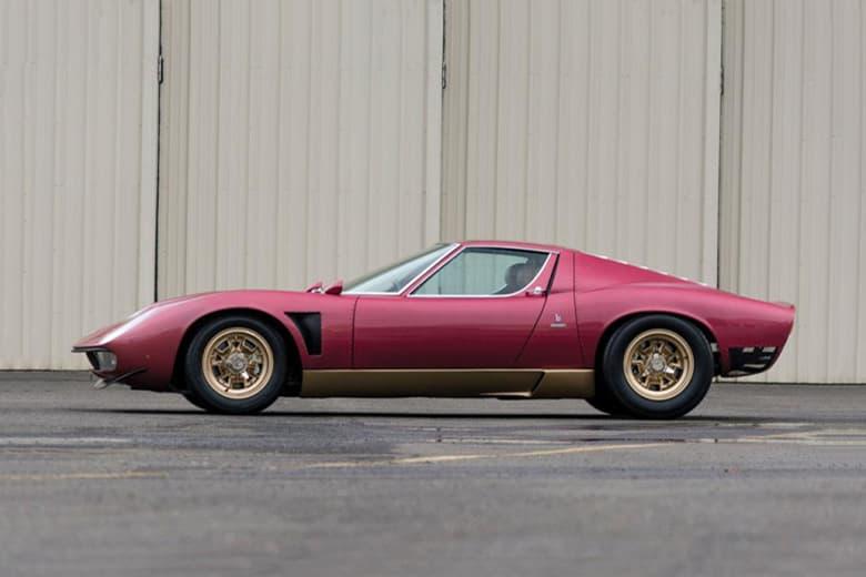 1971 Lamborghini Miura SVJ to Be Auctioned Off for $2 Million USD