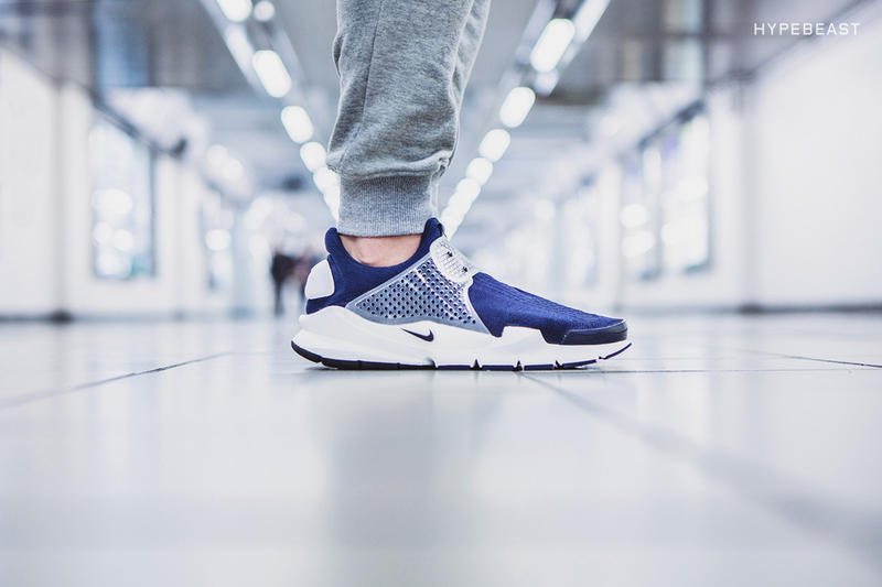 "A Closer Look at the fragment design x Nike Sock Dart ""Dark Obsidian"""