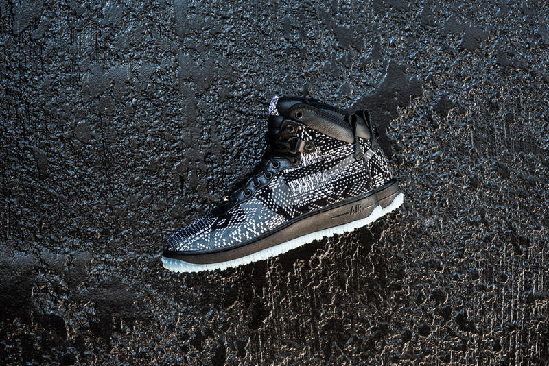save off 5aa60 48702 This year, the Nike Air Force 1 Duckboot has joined Nike s annual lineup of  sneakers that will be