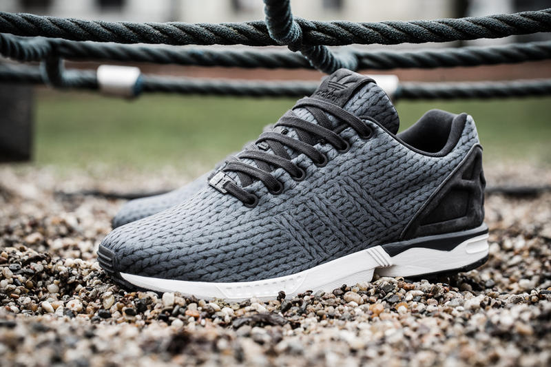 """A First Look at the adidas Originals ZX Flux """"Knit"""""""