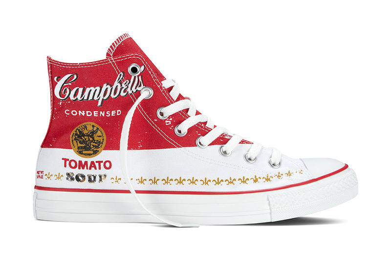 6295a10a1542 Andy Warhol x Converse 2015 Chuck Taylor Collection