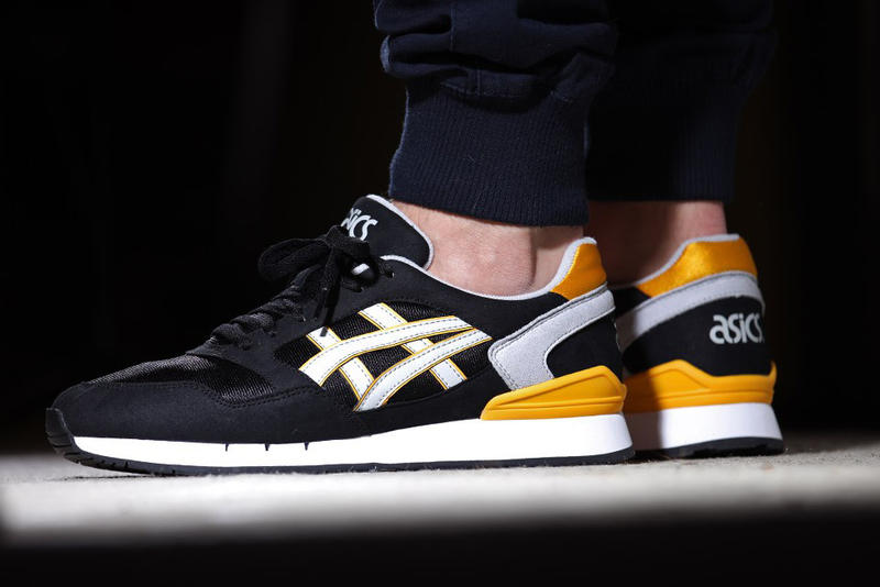 ASICS Gel Atlantis Black/Soft Grey/Yellow