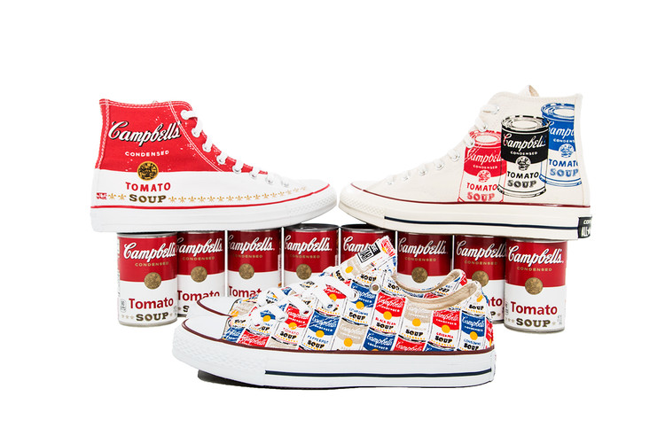 A Closer Look at the Andy Warhol x Converse 2015 Chuck Taylor Collection ·  Footwear aea2bd866