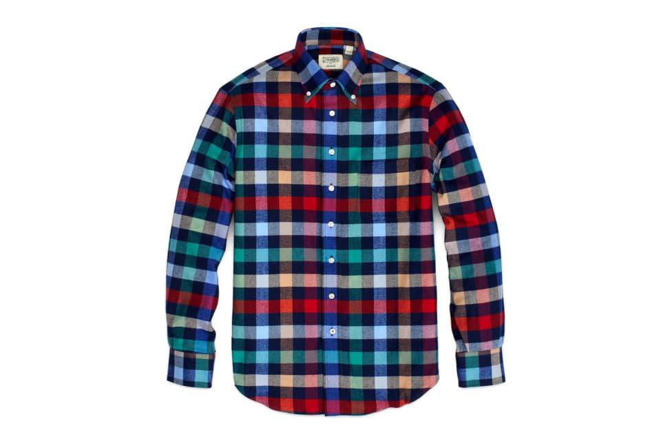 Gitman Bros. x Jack Spade Winter Flannel Shirts Capsule Collection