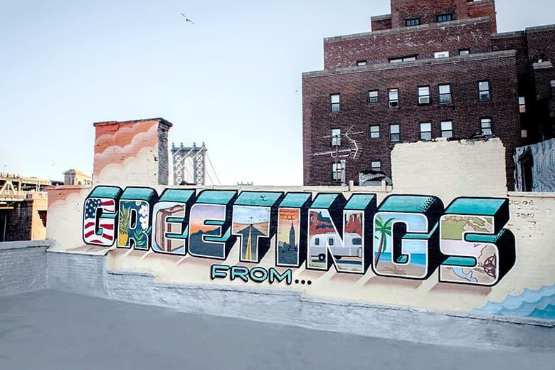 "Graffiti Artist to Cross America Painting ""Greetings From"" Murals"