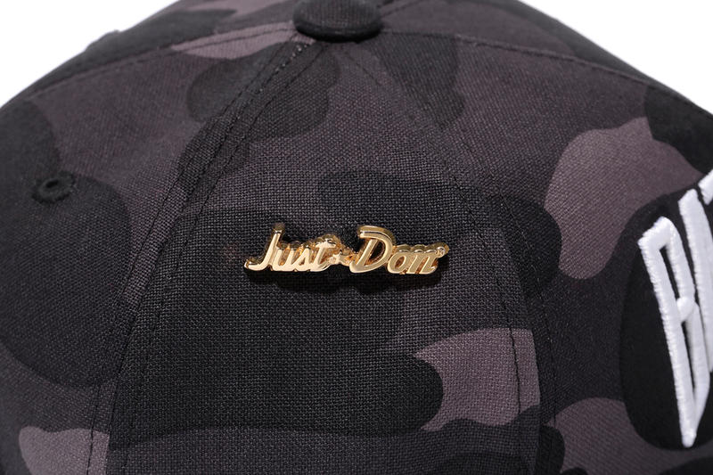 Just Don x RSVP Gallery x A Bathing Ape 1ST CAMO Snapback Collection ... 31a17389074