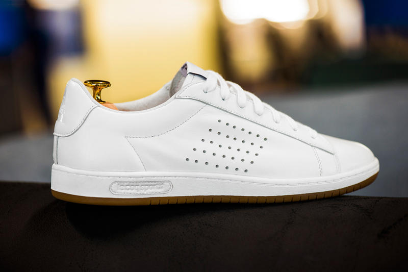 """08a2c346c24d Le Coq Sportif presents its premium """"Made In France"""" range with the Arthur  Ashe silhouette"""
