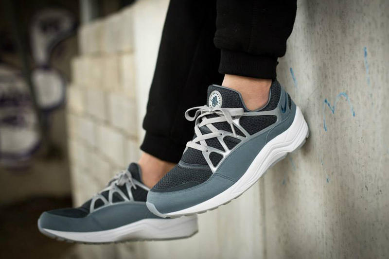 6720a8d71ecc Nike Air Huarache Light Classic Charcoal Blue Force-Wolf Grey. The Huarache  silhouette continues to spearhead Nike s footwear releases in 2015 .