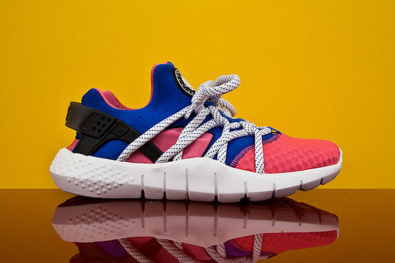 on sale 86003 b6612 Nike Air Huarache NM Black White   Pink Royal   HYPEBEAST