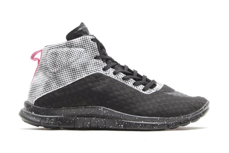 best sneakers 6f29e abccb Nike Free Hypervenom Mid FB QS Black White-Pure Platinum-Blue Lagoon