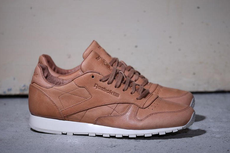 712014035041d Reebok introduces a covetable new rendition of its Classic Leather Lux  silhouette in a