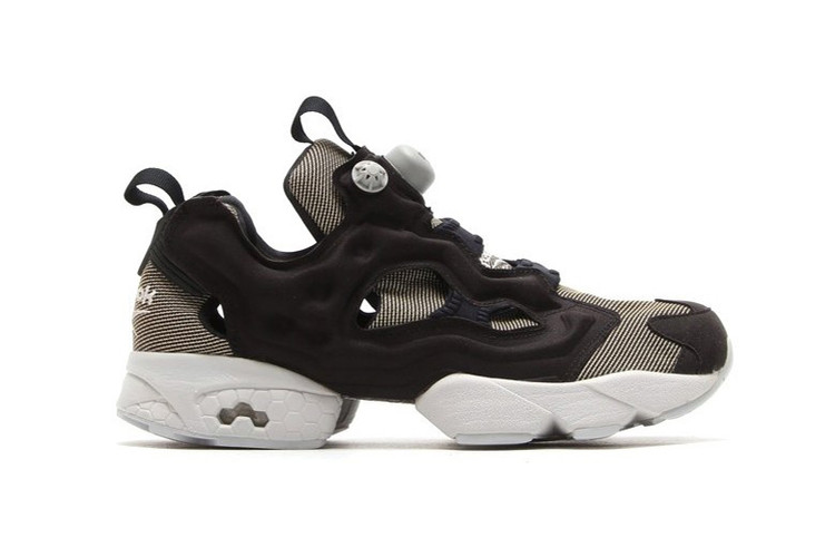 5d56851aa0c3 Reebok Instapump Fury Tech Black Steel. Footwear